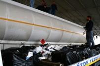 Osmaniye'de Yakıt Tankerinden 22 Bin 500 Paket Kaçak Sigara Çıktı