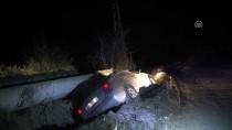 KÜRKÇÜLER - Polisten Kaçan Sürücü Kaza Yapınca Yakalandı