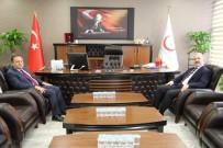 YÜZÜNCÜ YıL ÜNIVERSITESI - Sağlık Müdürü Akdoğan'a 'Hayırlı Olsun' Ziyaretleri