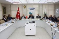 AMASYA VALİSİ - Samsun, Amasya Ve Çorum Valileri Tokat'ta Buluştu