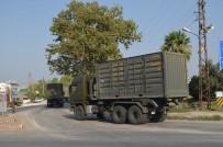 ARAÇ KONVOYU - Sınıra Askeri Sevkiyat Sürüyor
