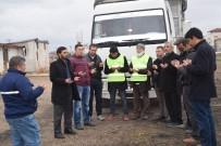 EKMEK FIRINI - Şuhut'dan, Suriyeli Mültecilere 1 Kamyon Dolusu Patates Gönderildi