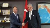 DIŞİŞLERİ KOMİSYONU - TBMM Dışişleri Komisyonu Başkanı Bozkır'ın Kabulü