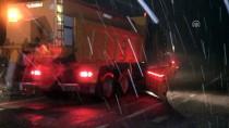 DEREKÖY - Trakya'nın Yüksek Kesimlerinde Kar Yağışı Başladı