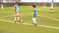 FUTBOL TURNUVASI - Türk Ve Suriyeli Çocuklar Turnuvada Buluştu