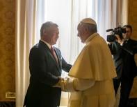 ÜRDÜN KRALI - Ürdün Kralı II. Abdullah, Papa Francis İle Bir Araya Geldi