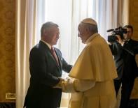 ÜRDÜN KRALI - Ürdün Kralı II. Abdullah, Papa İle Bir Araya Geldi