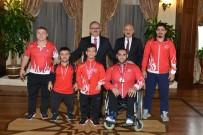 FARUK ÖZTÜRK - Vali Karakoğlu, Meksika Şampiyonunu Kutladı
