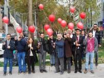 DÜNYA AIDS GÜNÜ - Aids Gününde Kırmızı Balon Uçurdular
