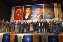 UĞUR AYDEMİR - Akhisar AK Parti'de Yeni Başkanı İbrahim Sayın Oldu