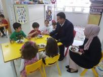 Başkan Bakıcı Bozüyük Anaokulu'nu Ziyaret Ederek Minik Öğrencilerle Sohbet Etti