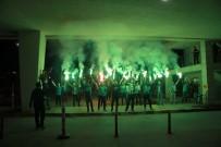 ALİ AY - Bursaspor'a Konya'da Coşkulu Karşılama