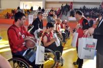 BASKETBOL MAÇI - Engelliler Maçında Dostluk Kazandı