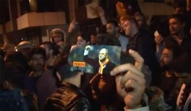 Galatasaraylılardan Florya'da Fatih Terim'li protesto!