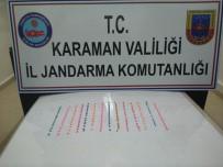 Karaman'da Jandarmadan Uyuşturucu Hap Operasyonu