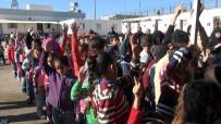 Kilis'te Suriyeli Yetim Çocuklara Mont Ve Ayakkabı Dağıtıldı