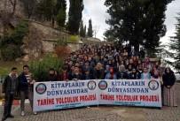 HAMIDIYE - Trabzonlu Öğrencilerin ''Kitapların Dünyasından Tarihe Yolculuk'' Projesi Ziyareti