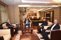 SÜLEYMAN ELBAN - AK Parti İl Başkanı Karabıyık'tan Ağrı Valisi Elban'a Ziyaret