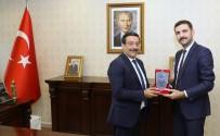 GAZİ YAŞARGİL - Araştırma Hastanesinden Başkan Atilla'ya Ziyaret