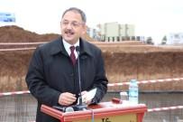 Bakan Özhaseki Silopi'de Temel Atma Törenine Katıldı