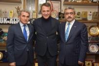 NAZİLLİ BELEDİYESPOR - Beşiktaş Başkanı Fikret Orman, Başkan Alıcık'ı Ziyaret Etti