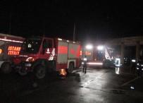 ÇAVUŞBAŞı - Beykoz'da İtfaiye İstasyonunda Yangın
