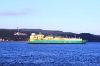 ÇANAKKALE BOĞAZı - Doğalgaz Tankeri Çanakkale Boğazı'ndan Geçti