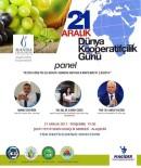 KOOPERATİFÇİLİK - Dünya Kooperatifçilik Gününde Üzümcünün Sorunları Ele Alınacak