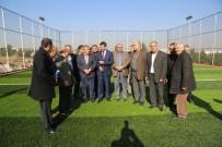 MUSTAFA ARSLAN - Evren Sanayi Sitesine Spor Kompleksi Yapılıyor