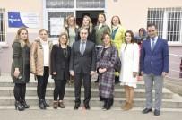 YEŞILDERE - GKV Ortaokulu'ndan Yeşildere Cumhuriyet İlkokuluna Ziyaret