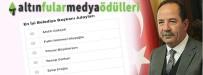 MABEL MATİZ - Gürkan, 'En İyi Belediye Başkanları' Kategorisinde Aday