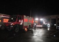 ÇAVUŞBAŞı - İtfaiye İstasyonunda Yangın