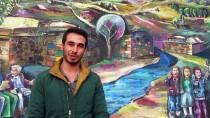 ŞİFALI SU - Kaplıca Duvarlarına Anadolu Kültürünü Çiziyor