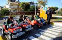 TRAFİK EĞİTİM PARKI - Kepez'de Öğrencilere Trafik Eğitimi