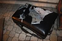 BOMBA İMHA UZMANI - Konya'da Şüpheli Valiz Fünye İle Patlatıldı