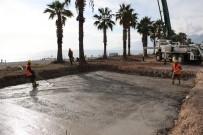 KONYAALTI SAHİLİ - Konyaaltı Sahili Projesi'ndeki Çalışmalar