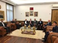 JANDARMA GENEL KOMUTANI - Korucu Başkanlarından Jandarma Genel Komutanı Orgeneral Çetin'e Ziyaret