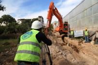 KOCAHASANLı - MESKİ, Erdemli'de Kanalizasyon Çalışmalarına Devam Ediyor