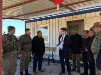 KÖY KORUCULARI - Nurdağı Kaymakamı Mevsimlik Tarım İşcilerini Ziyaret Etti.