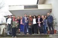 SANAT ATÖLYESİ - Rektör Çakar, Konuralp Müzesi Çocuk Kültür Sanat Atölyesini Ziyaret Etti
