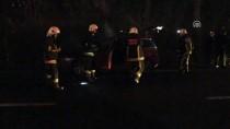 Yalova'da Otomobil Yangını