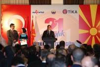 TÜRKIYE BELEDIYELER BIRLIĞI - Başbakan Yardımcısı Çavuşoğlu Makedonya'da