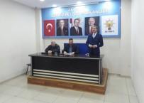 YUSUF ALEMDAR - Başkan Alemdar'dan Başkan Erken'e İade-İ Ziyaret