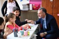 DÜNYA ENGELLILER GÜNÜ - Başkan Taban'dan Özel Öğrencilere Ziyaret