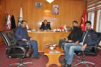 KAMU GÖREVİ - BİBACEM'den Günkırı Belediye Başkanı Çetinsoy'a Ziyaret