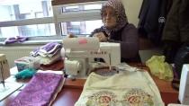 ORTA ASYA - İkinci Baharlarında 'Dikiş' Atarak Mutlu Oluyorlar