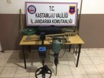 KONAKLı - İzinsiz Kazı Yapan 4 Kişi, Gözaltına Alındı