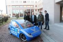 Öğrencilerin Geliştirdiği Elektrikli Araba 5.5 TL'ye Niğde'den Ankara'ya Gidiyor