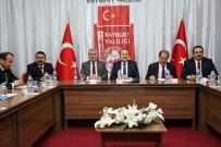BAYBURT ÜNİVERSİTESİ REKTÖRÜ - 'Örnek Esnaf Mutlu Müşteri' Projesi Tanıtım Toplantısı Vali Ali Hamza Pehlivan Başkanlığında Gerçekleştirildi