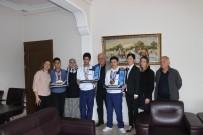 RAMAZAN CAN - Özel Sporculardan Başkan Karaçelik'e Ziyaret